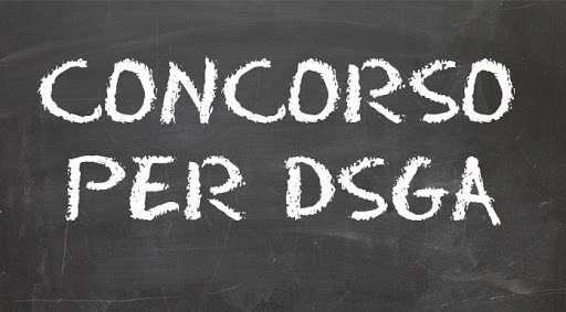 Concorso per DSGA